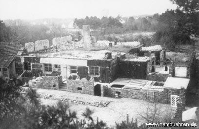 Geschichte eines Bunkers - 1956/1957 Die Kellerräume für die Anbauten entstehen©Einheitsgemeinde Hambühren