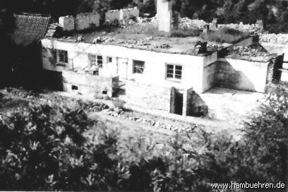 Geschichte eines Bunkers - Beim Dach- und Deckenbau mit 20.000 Mauersteinen©Einheitsgemeinde Hambühren