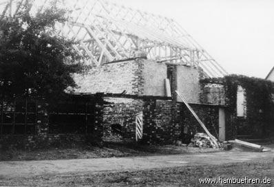 Geschichte eines Bunkers - 1959 vor der Dacheindeckung©Einheitsgemeinde Hambühren