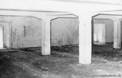 Geschichte eines Bunkers - 1949 Innenansicht des Bunkers Nr. 3©Einheitsgemeinde Hambühren