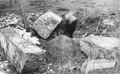 Geschichte eines Bunkers - Bunker Nr. 2 Freilegung©Einheitsgemeinde Hambühren
