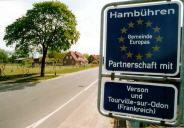 Partnerschaftstreffen 2009 Ortsschild©Einheitsgemeinde Hambühren